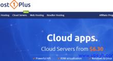 Host1plus:$6.3/月KVM 1核1GB 20GB 2TB 芝加哥&德国