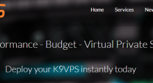 K9VPS:19.99美元/年 OpenVZ 4核 1G 65G 1.5T 1Gbps 洛杉矶QN 大硬盘