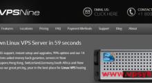 VPSNine:7美元/月 OpenVZ 1核 256MB 30GB 400GB 1Gbps 7数据中心