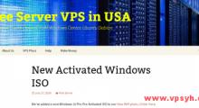FreeServer:2.49美元/月 KVM 2核 512MB 15GB 2TB 1Gbps Windows 西雅图