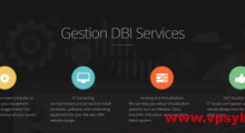 GestionDBI:2.65美元/月 KVM 0.5核 768MB 10GB 不限 1Gbps 加拿大