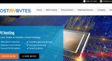 HostMyBytes:9美元/年 1核 512MB 10GB 1TB 100Mbps 洛杉矶QN