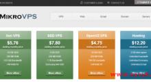 MikroVPS:2.88美元/月 Xen 2核 256MB 10GB 0.5TB 1Gbps  匈牙利