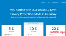 OnVirt:4欧元/月 KVM 1核 512MB 20GB SSD 500GB 200Mbps 德国