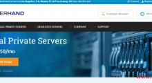 [黑五]ServerHand:10美元/年 KVM 1核 256MB 15GB 250GB 1Gbps 洛杉矶/达拉斯/新泽西