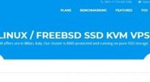 VMium:1.99美元/月 KVM 1核 1GB 10GB SSD 1TB 1Gbps 意大利