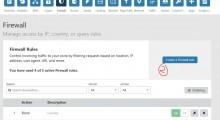 使用Cloudflare(CF)免费版的FireWall,设置按国家屏蔽访问等功能