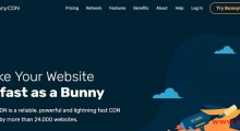 BunnyCDN:免费5美元余额试用CDN 全球多地区