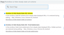 谷歌Chrome浏览器新 版本地址栏显示https以及www的方法