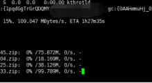 gclone大量转存小文件要多久?