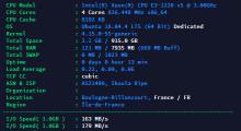 ikoula 15欧E3服务器 测试