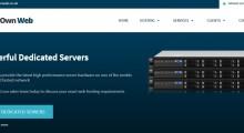 [黑五]OwnWeb:21英镑/年 KVM 1核 1GB内存 25GB SSD 3TB@1Gbps 英国 DDOS防护
