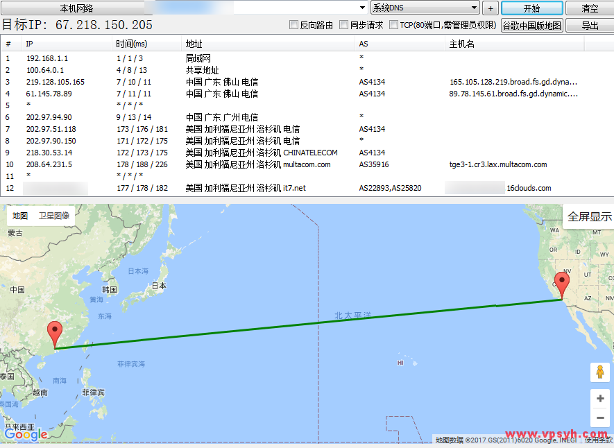 banwagong-traceroute-back-to-local