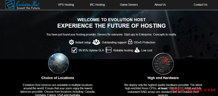 evolution-host-com